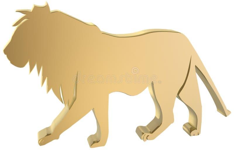 Download Lion stock illustration. Illustration of african, ruler - 1099558