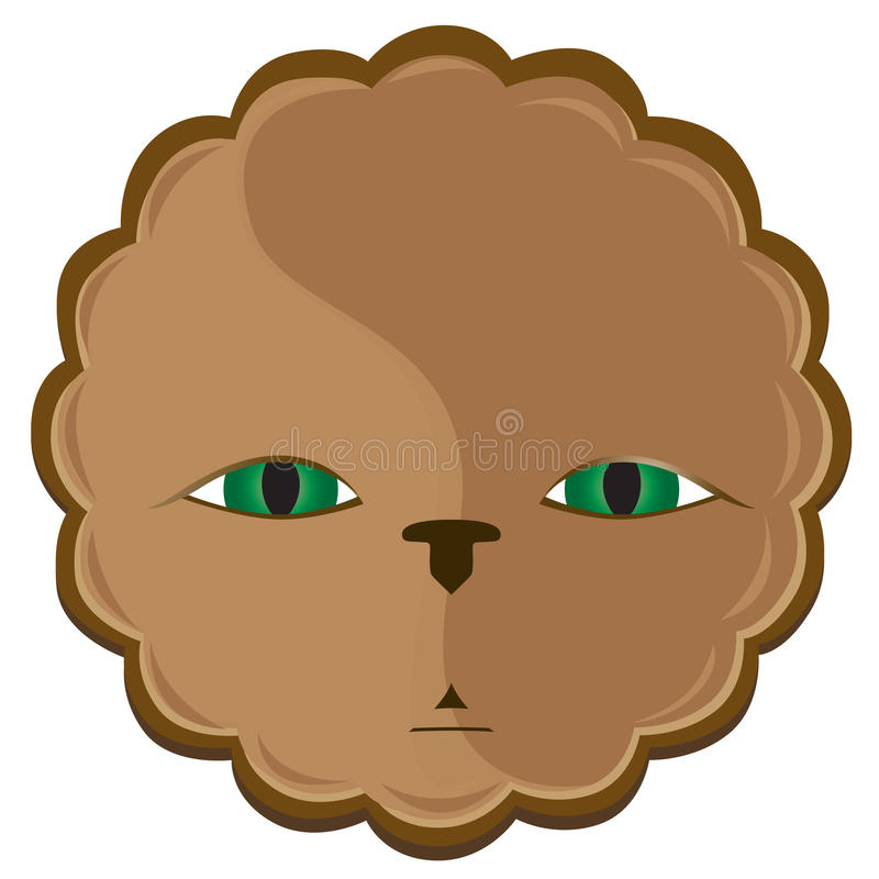 Download Lion stock vector. Image of animal, jungle, leon, look - 22713530