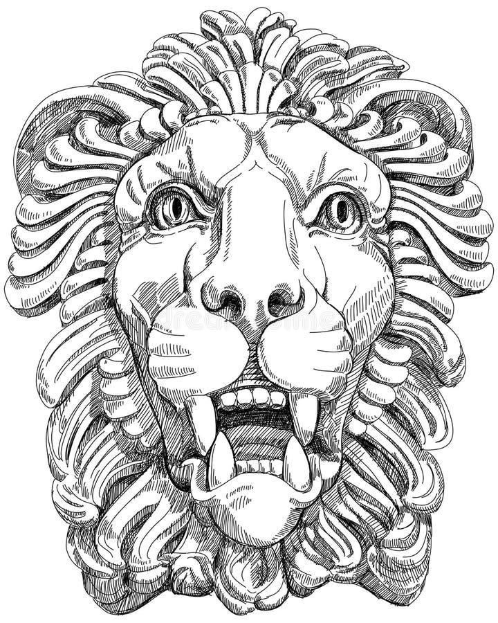 Download Lion stock vector. Illustration of portrait, face, mascots - 22857172