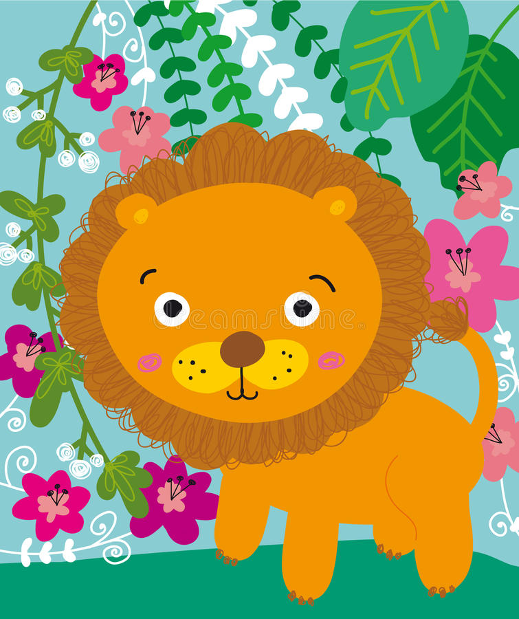 Lion stock illustration