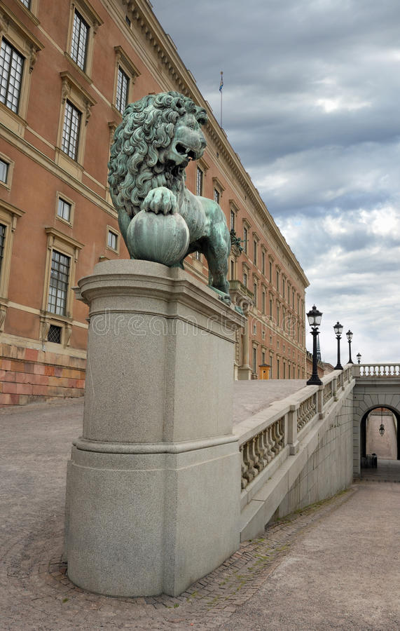 Free Lion. Stock Image - 25874801