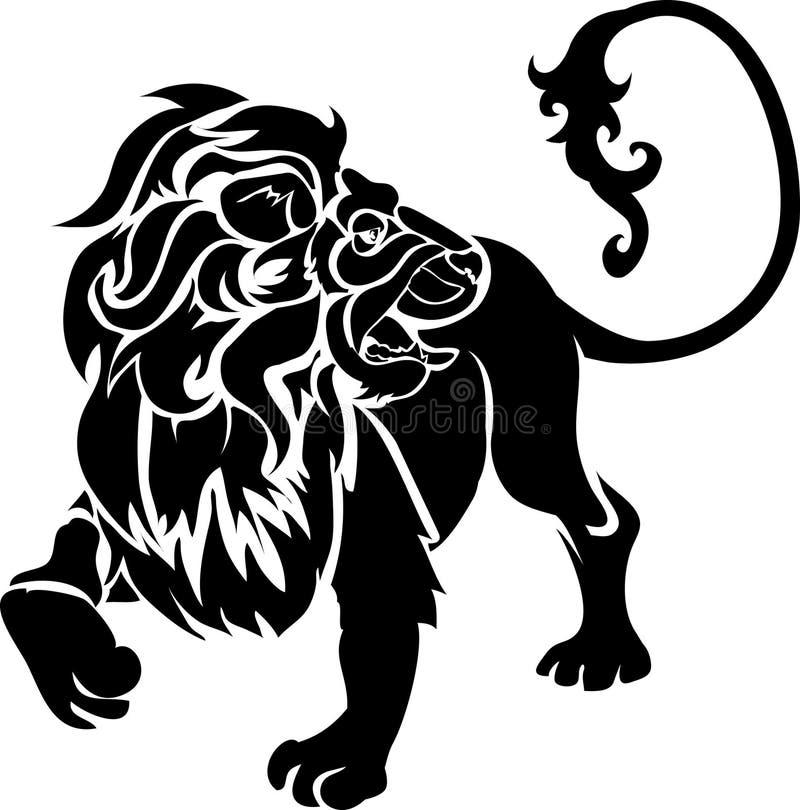 lion vektor illustrationer
