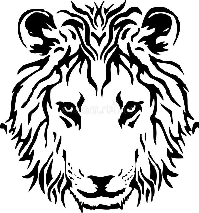 Lion illustration stock