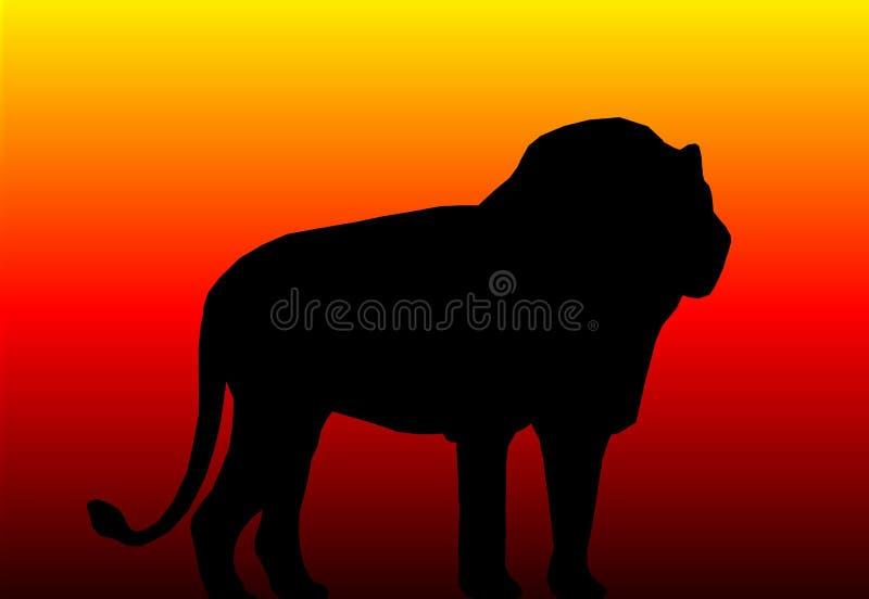 Download Lion stock illustration. Image of africa, wildlife, animal - 602460