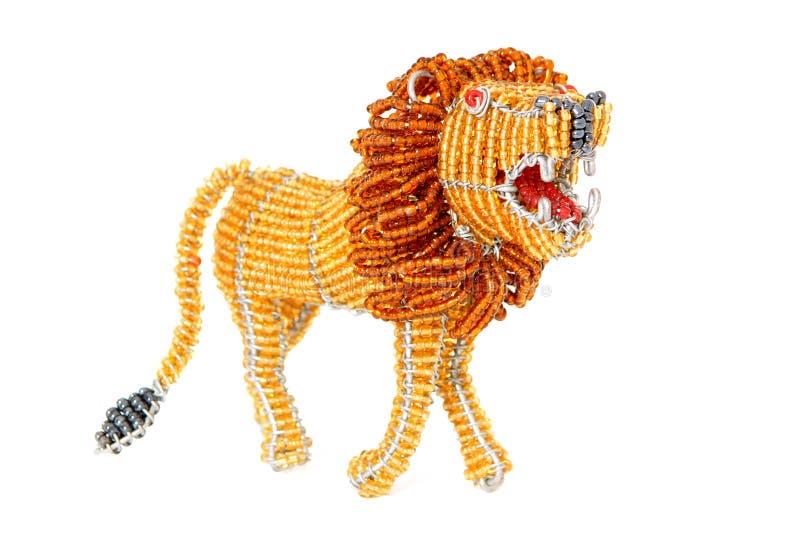 Lion africain décoratif images libres de droits