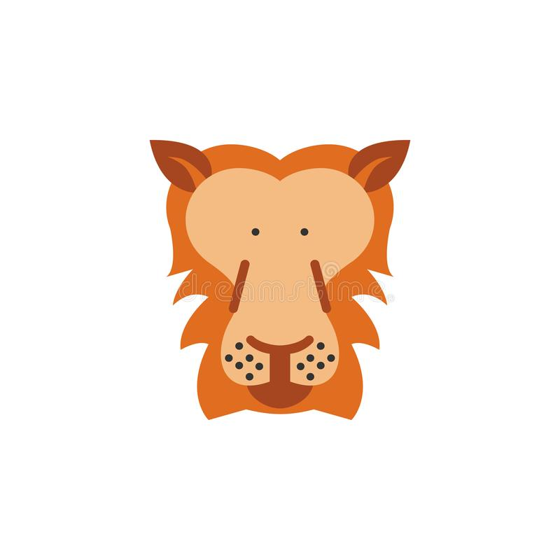 Lion, animal, wildlife icon. Element of color African safari icon. Premium quality graphic design icon. Signs and symbols. Collection icon for websites, web vector illustration