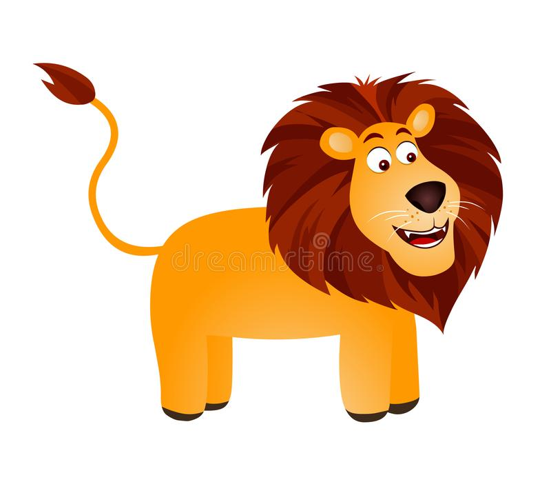 Lion royalty free illustration