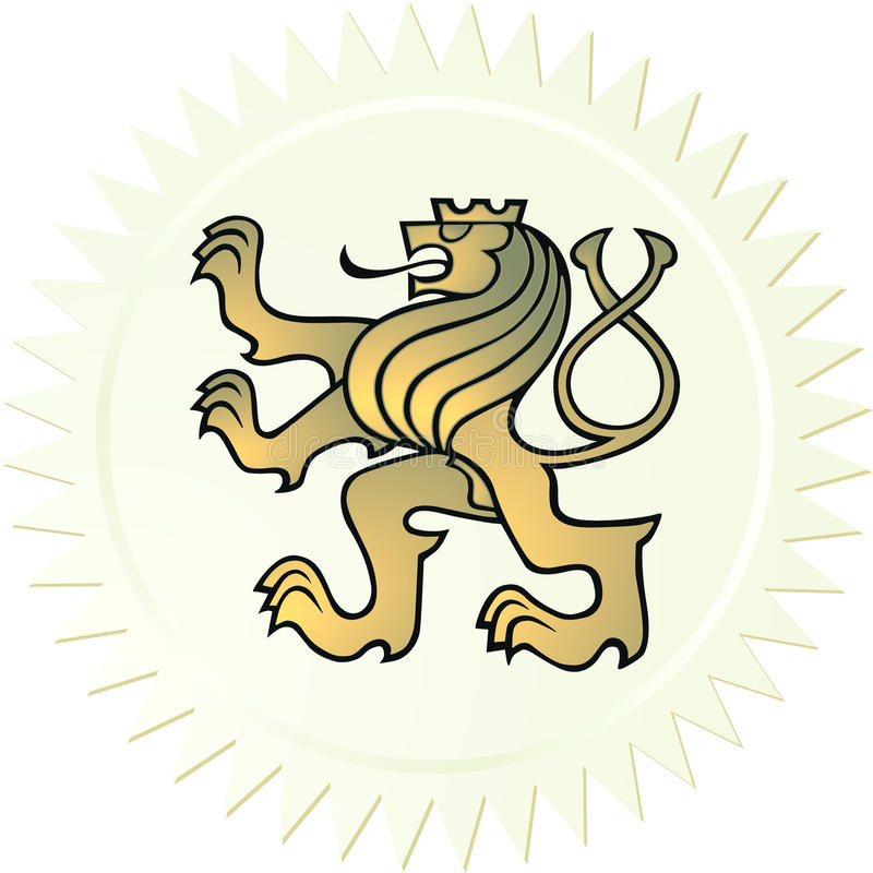 Download Lion coat of arms stock vector. Illustration of symbol - 11969218