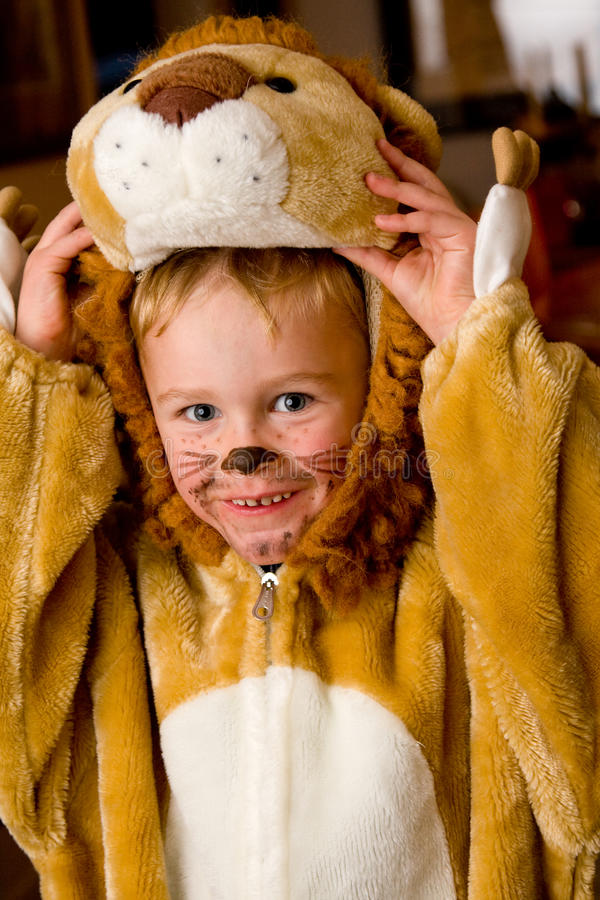Download Lion costume stock image. Image of outfit, clothes, laughing - 11613363