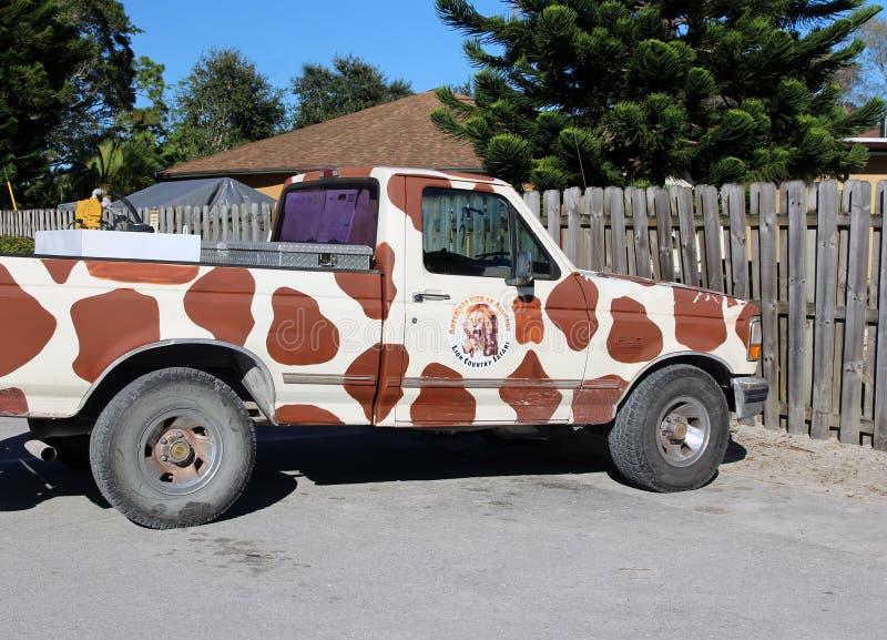 Lion Country Safari Vehicle stock afbeeldingen
