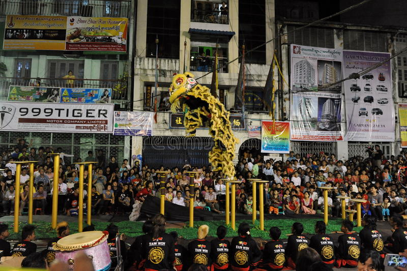 Download Lion Dance editorial photo. Image of china, ceremony - 30718866