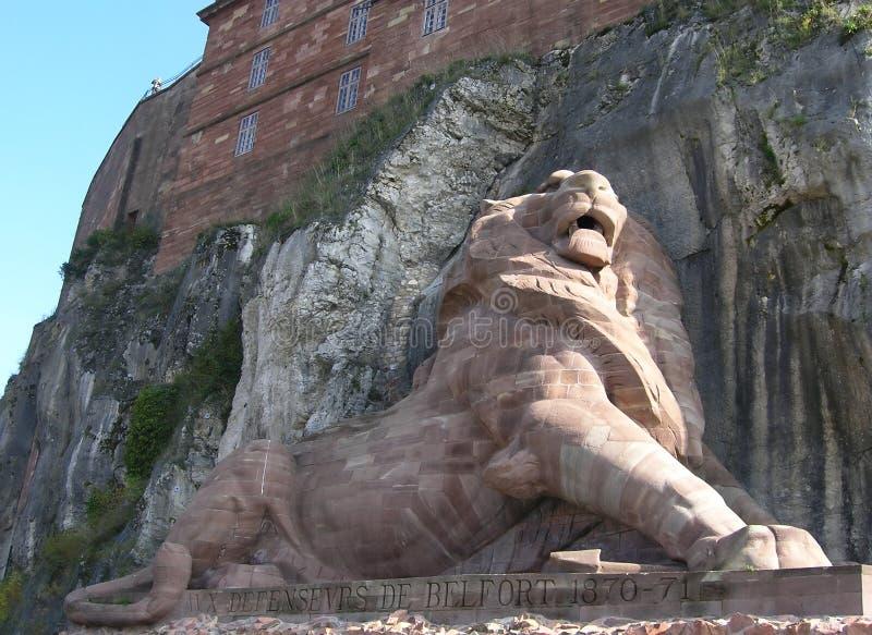 Lion de Belfort photo libre de droits