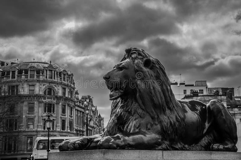 Lion de Londres images stock