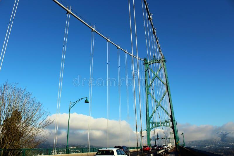 Lion Gate Bridge imagem de stock
