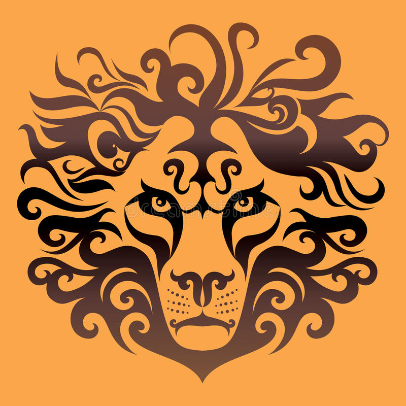Free Lion Head Royalty Free Stock Photos - 47587218