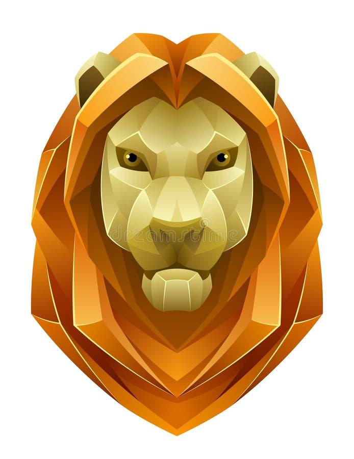 Lion Head illustration de vecteur