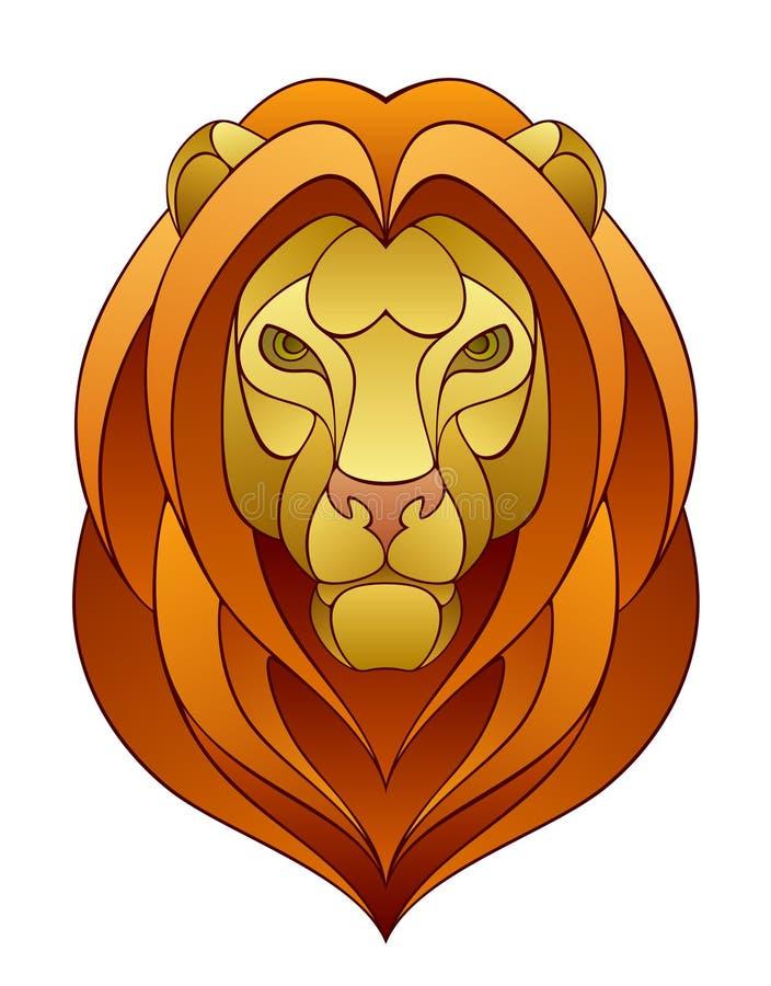 Lion Head illustration libre de droits