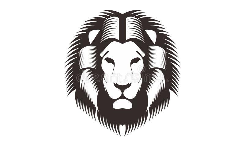 Line Art Lion : Lion head line art drawing illustration stock