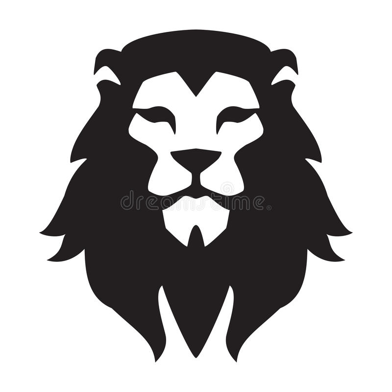 download lion head logo template animal wild cat face graphic sign pride strong