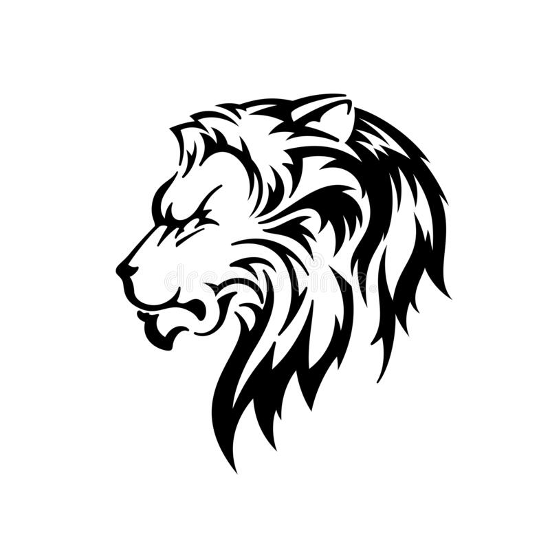 Lion Head Silhouette Vector Illustration Stock Vector Illustration Of Beast Design 194578326 Thus, the length of you have a gifted tattoo craftsman and interesting outline, you can have an image of pride. dreamstime com
