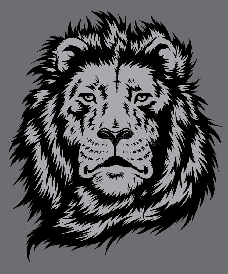 Download Lion Head Vector stock vector. Illustration of courage - 34910847
