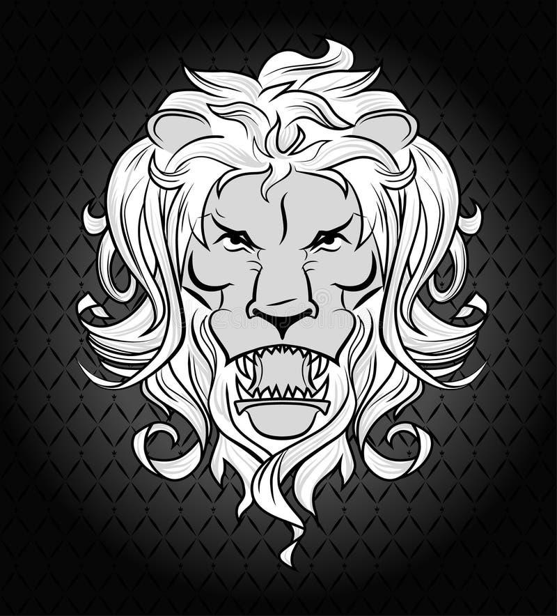 Download Lion head stock vector. Image of heraldic, mascot, character - 32177094