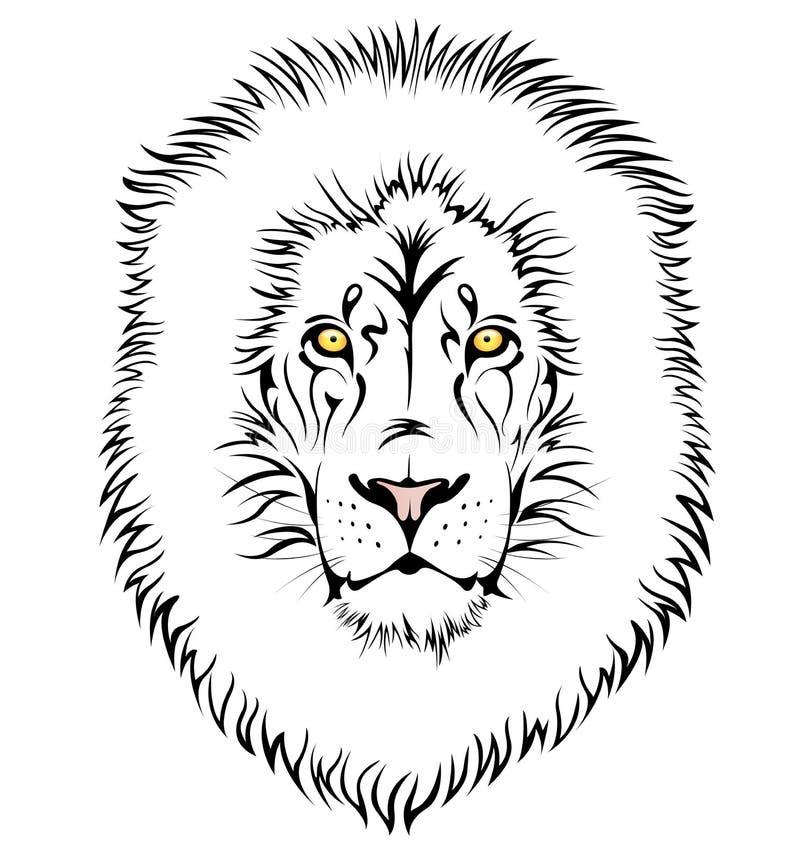 A lion head