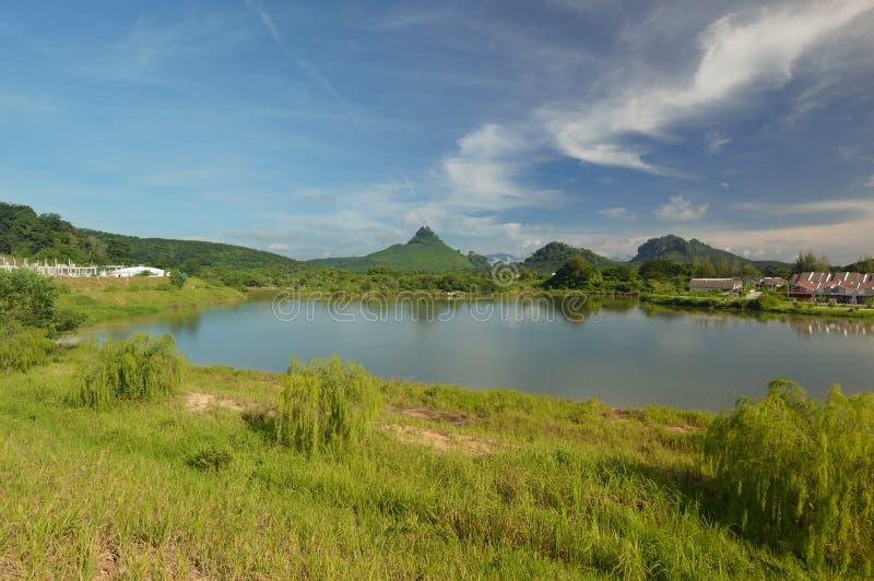 Lion Hill Sungai Siput royaltyfria bilder