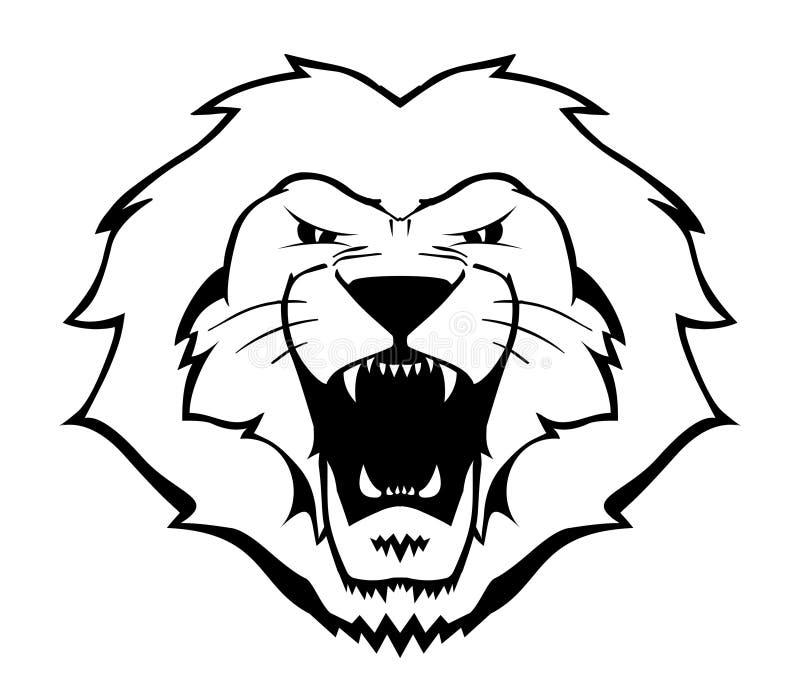 Download Lion Illustration stock vector. Image of football, tiger - 5743228