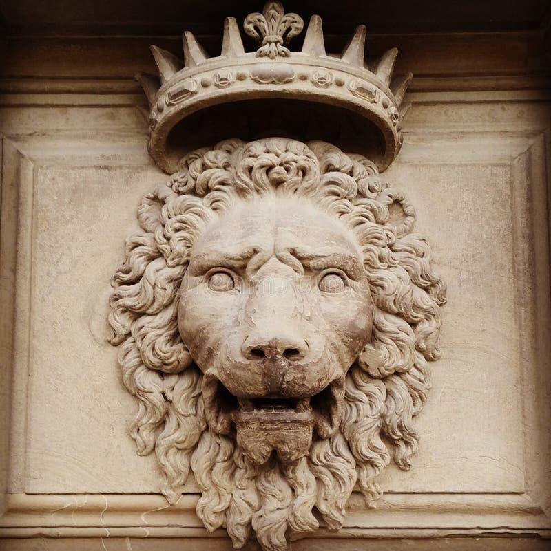 Lion King i Florence arkivbilder