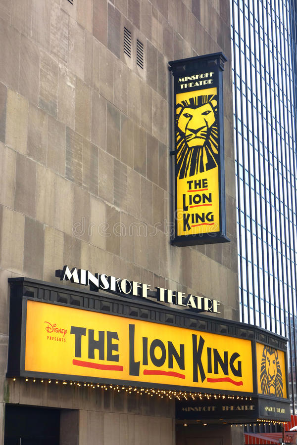 The Lion King Musical royalty free stock photography