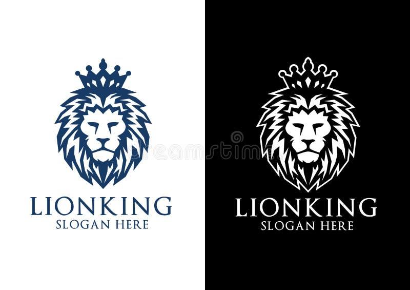Lion King Vector Logo Design libre illustration