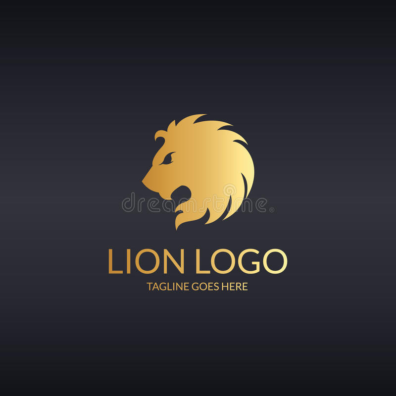 Lion Logo illustration stock