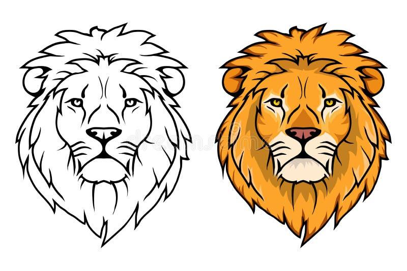 Lion Logo León del animal del vector libre illustration
