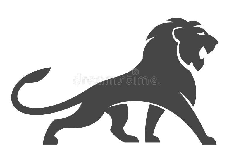Lion Logo ilustração do vetor