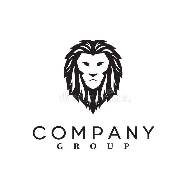 Lion Logo Vetora fotografia de stock royalty free