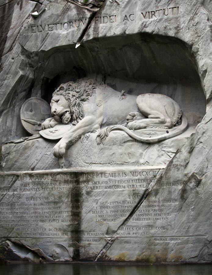 Download Lion Of Lucerne, Switzerland Stock Image - Image: 16774361
