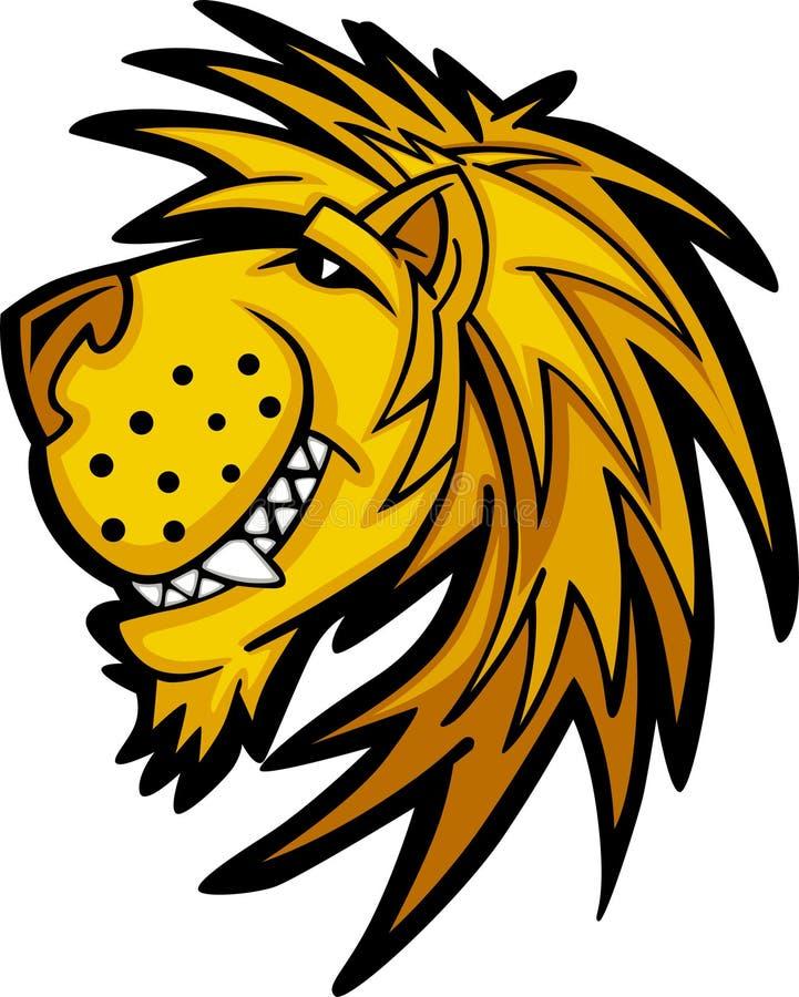 Lion Mascot Logo Royalty Free Stock Photo