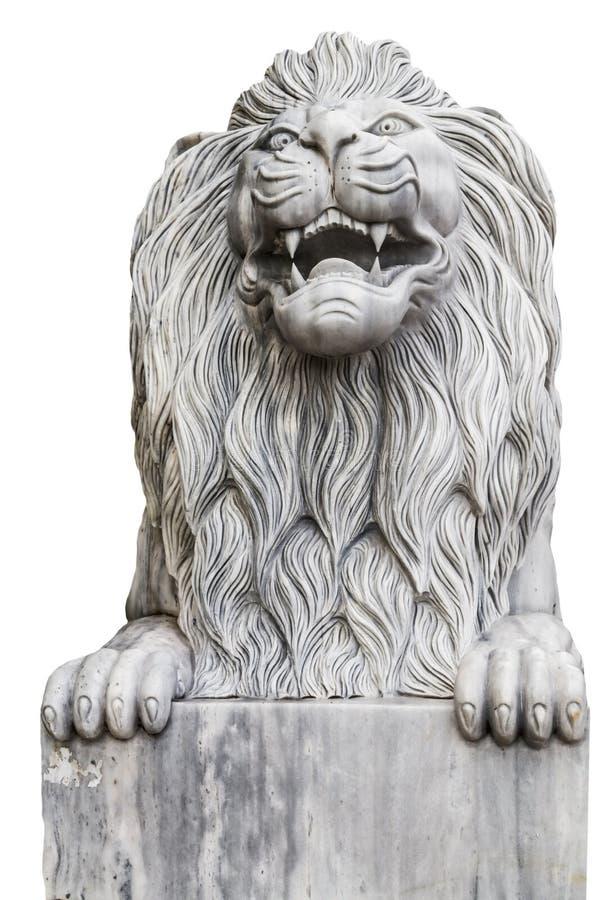 Lion ou marbre Lion photo stock