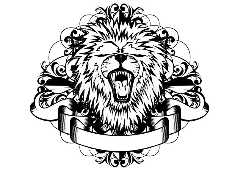 Download Lion And Patterns Stock Photos - Image: 25875613