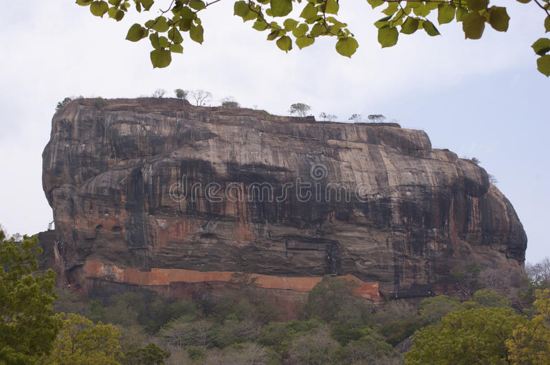 Download Lion rock formation stock image. Image of greenery, large - 32153189