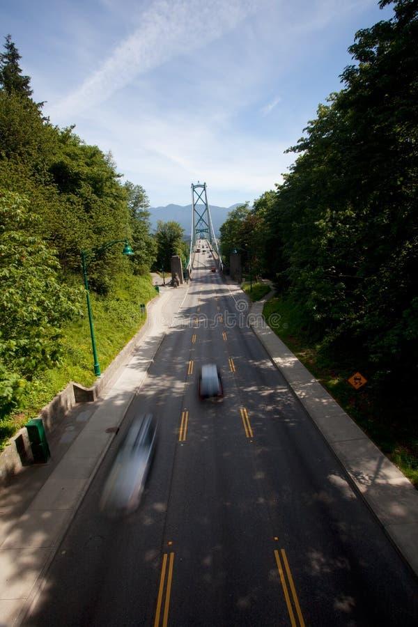 Download Lion's Gate Bridge stock image. Image of canada, citylife - 10754143