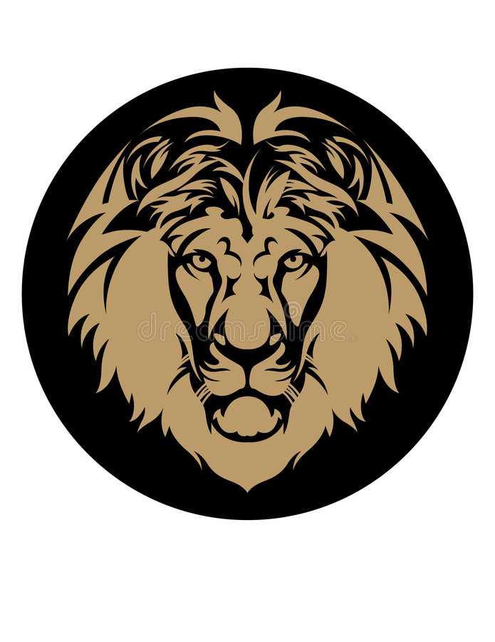 Download Lion's Head stock vector. Image of mane, justice, head - 7542003