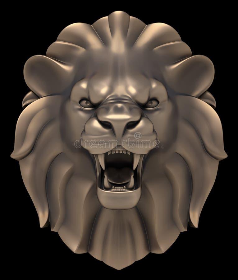 Lion`s Head royalty free illustration