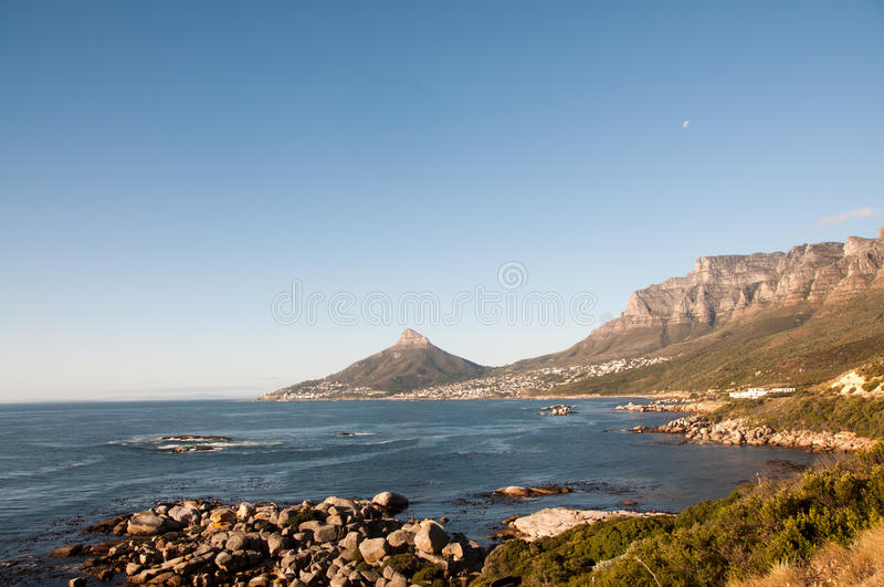 Lion's Head and Twelve Apostles stock images
