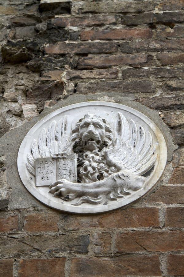 Lion Of Saint Mark Symbol Of Venice Stock Photo Image Of
