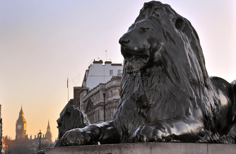 Download Lion Sculpture stock photo. Image of guard, guardian - 21316320