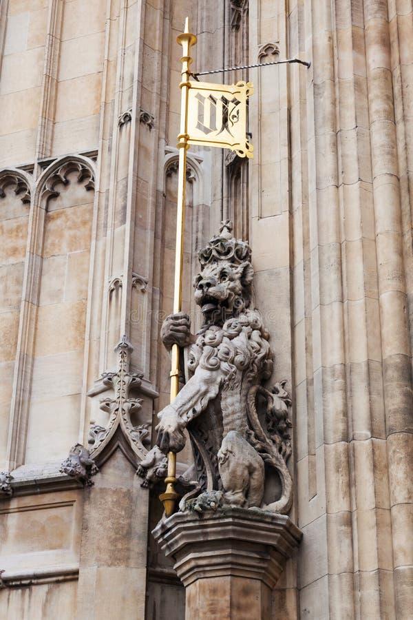 Lion Sculpture photographie stock