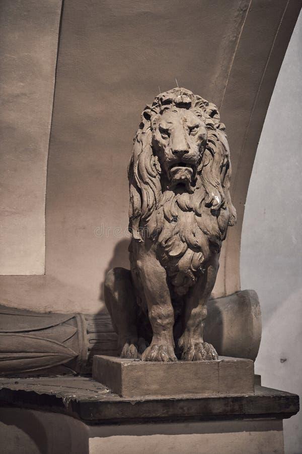 Lion Sculpture foto de stock