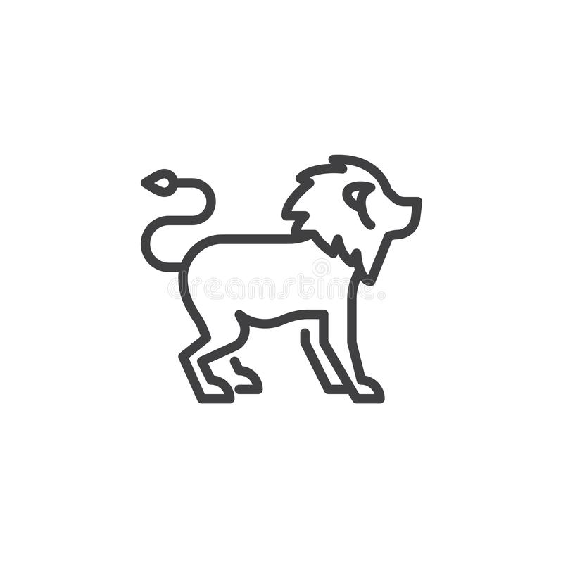 Lion Side View Stock Illustrations 357 Lion Side View Stock Illustrations Vectors Clipart Dreamstime Anyone can make after downloading and printing, one must carefully cut out the outline of the lion template to use it. lion side view stock illustrations